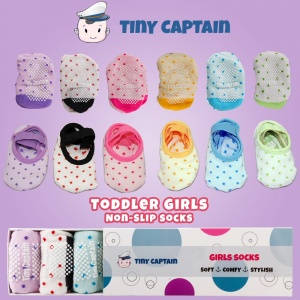 Non Skid Socks For 1 3 Years Old Toddler Girls With Strap Product